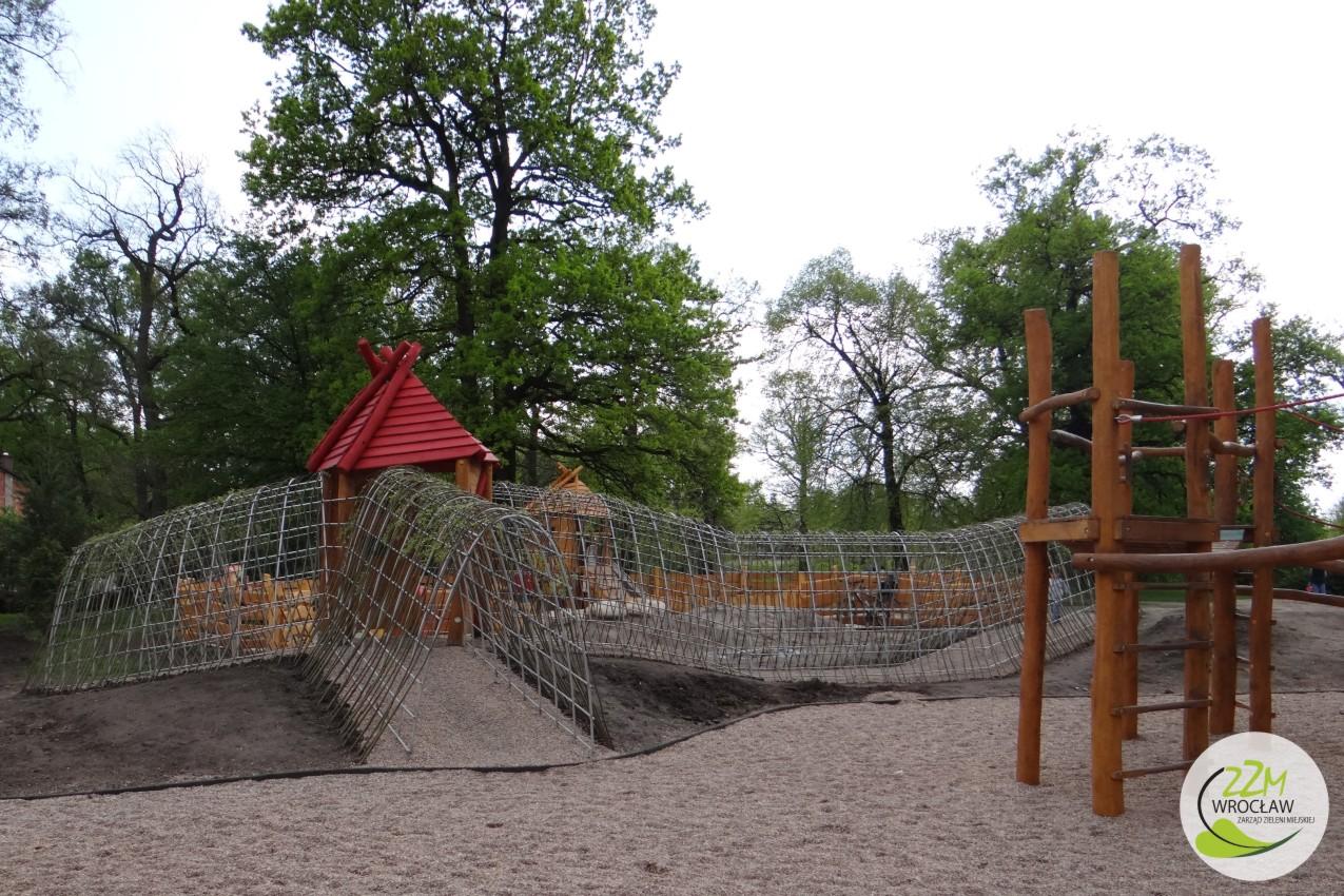 Plac zabaw dla dzieci Park Kleciński Wrocław zdjęcie 5