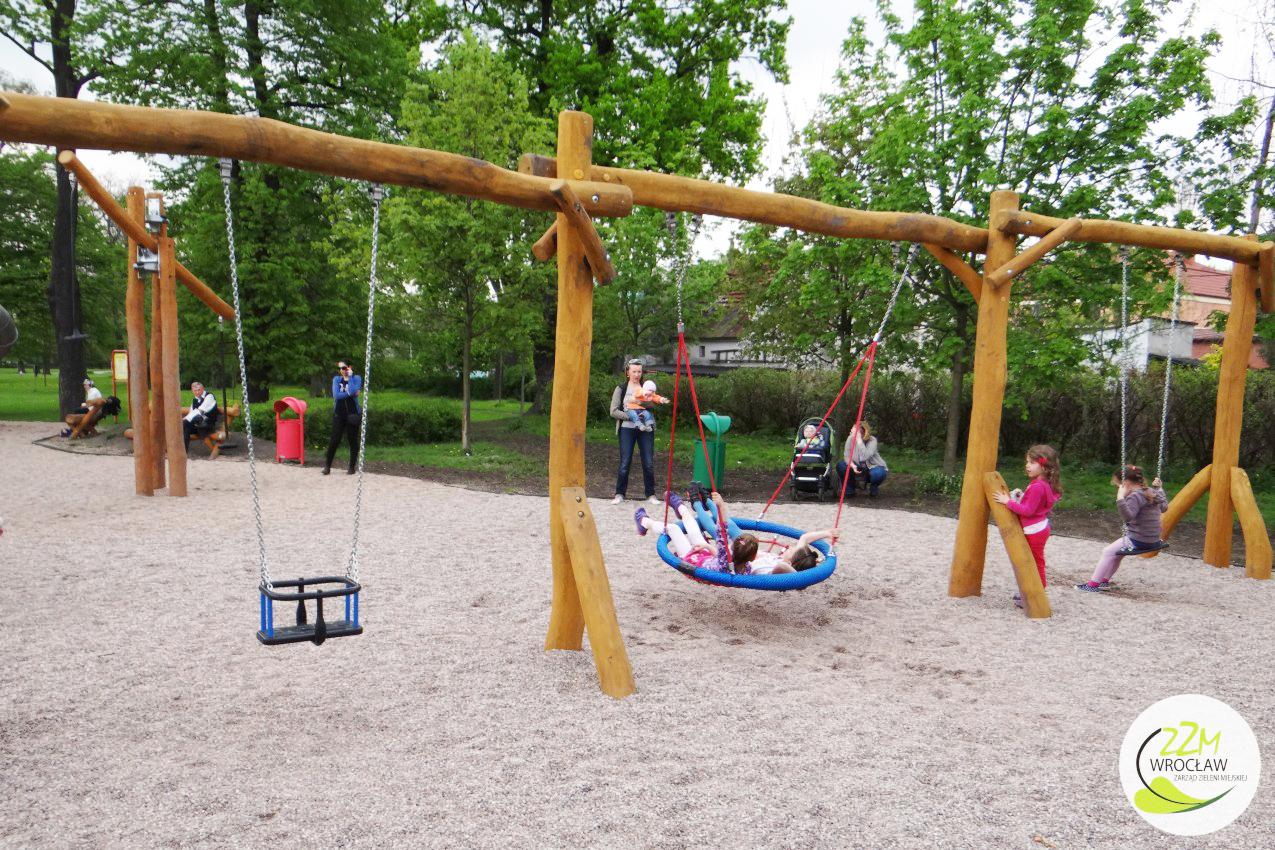 Plac zabaw dla dzieci Park Kleciński Wrocław zdjęcie 4