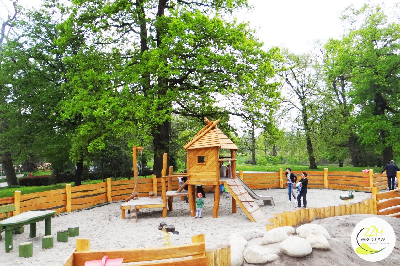 Plac zabaw dla dzieci Park Kleciński Wrocław zdjęcie 3
