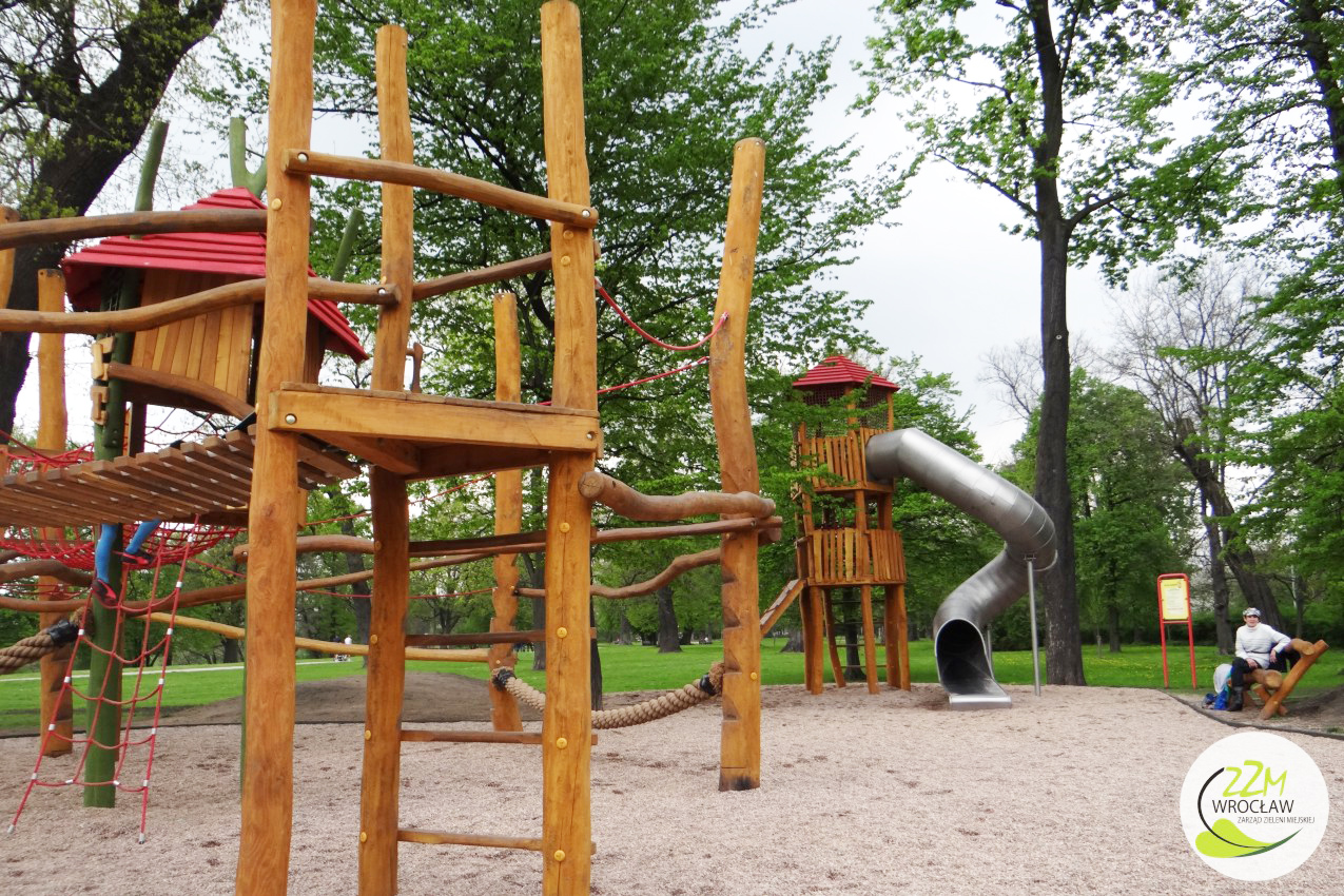 Plac zabaw dla dzieci Park Kleciński Wrocław zdjęcie 2