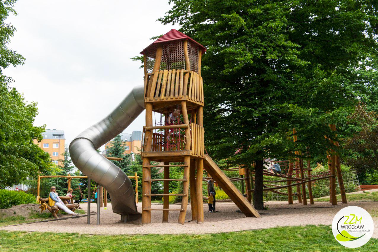 Plac zabaw dla dzieci Park Kleciński Wrocław zdjęcie 1