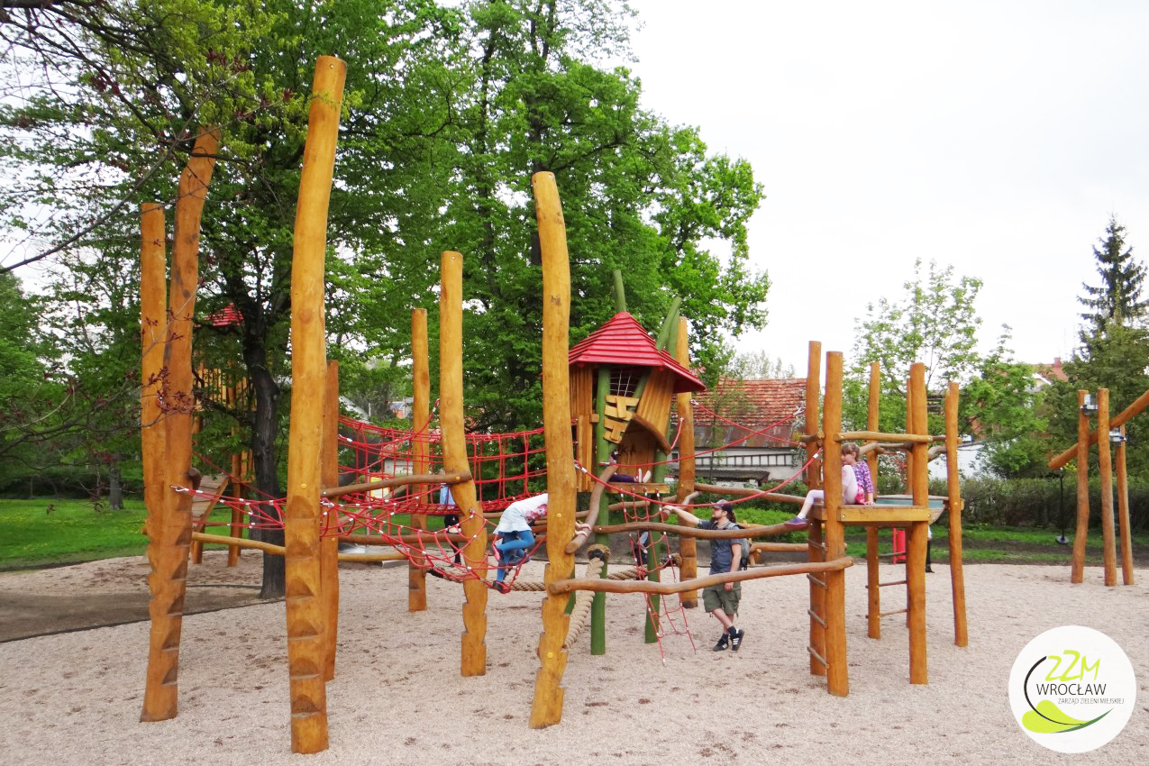 Plac zabaw dla dzieci Park Kleciński Wrocław zdjęcie 0