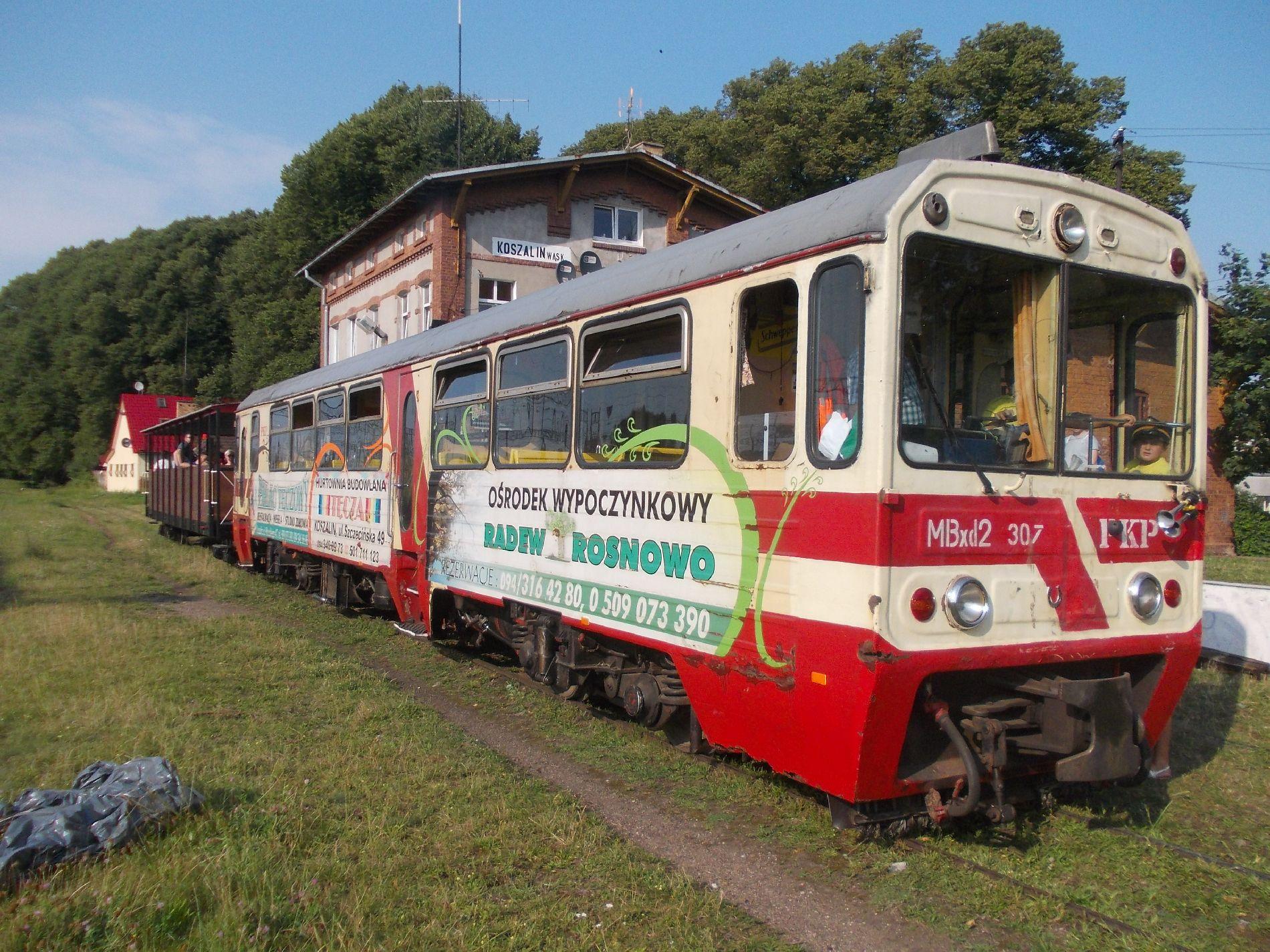 Kolej Wąskotorowa w Koszalinie zdjęcie 2