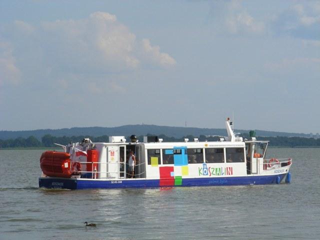 Tramwaj wodny Koszałek - przeprawa przez jezioro Jamno zdjęcie 5