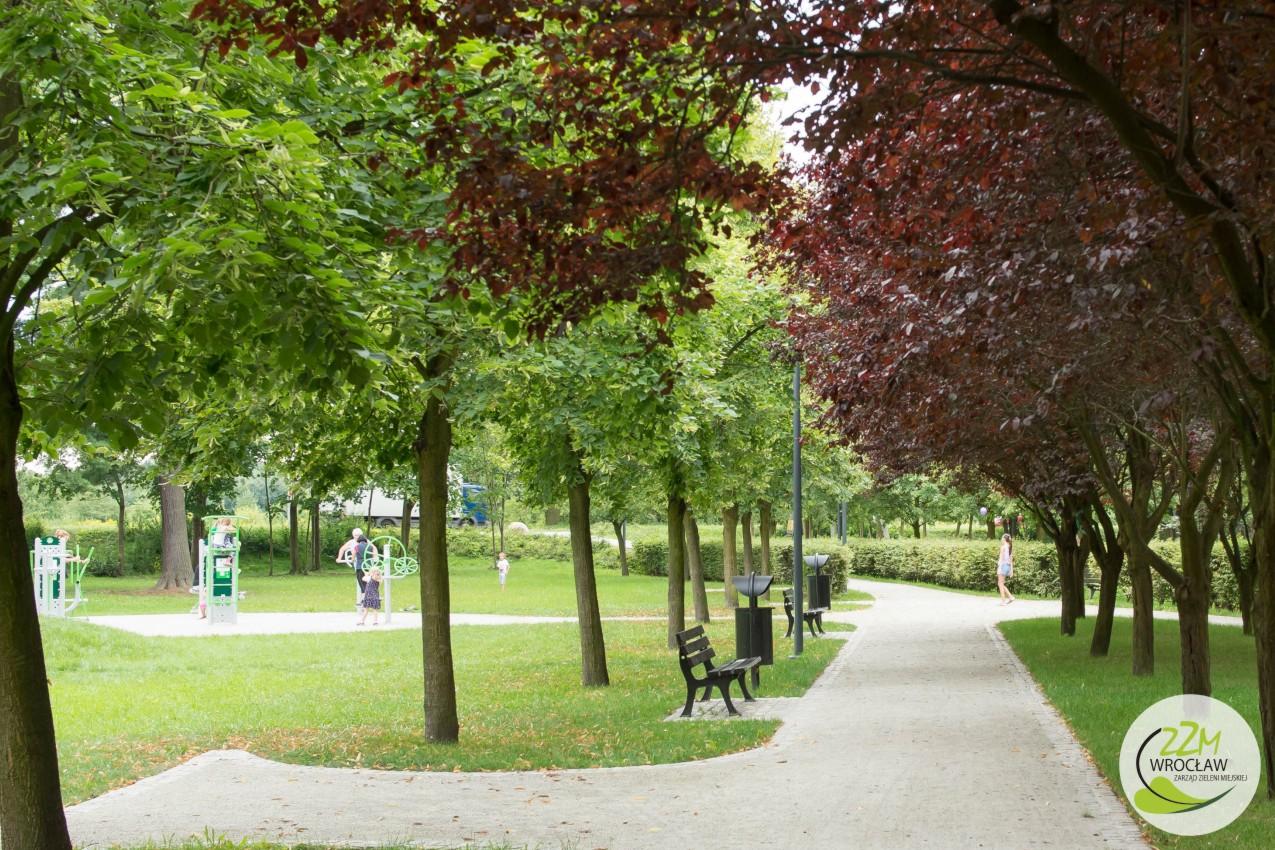 Plac zabaw Wrocław Park Strachociński  zdjęcie 5