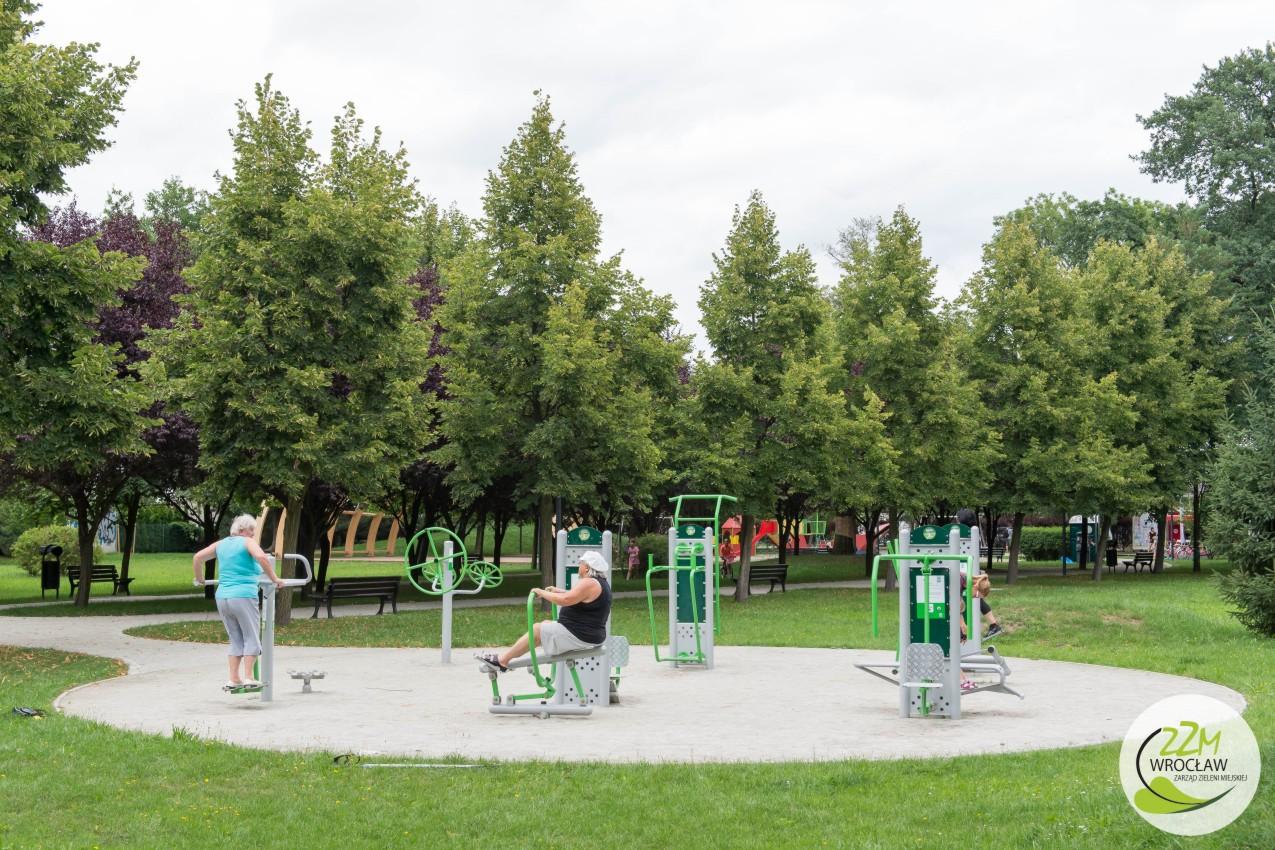 Plac zabaw Wrocław Park Strachociński  zdjęcie 3