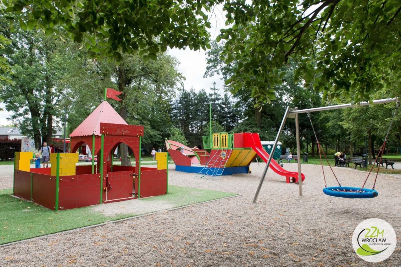 Plac zabaw Wrocław Park Strachociński  zdjęcie 2