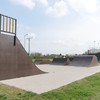 Skatepark i fitness pod chmurką Konin-Zatorze