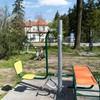 Fitness pod chmurka i plac zabaw Konin-Gosłąwice Cukrownia
