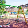 Plac zabaw Będzin M. Konopnickiej 21