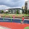 Plac zabaw w parku Dzierżoniów ul. Sikorskiego