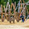 Plac zabaw Świnoujście park Zdrojowy