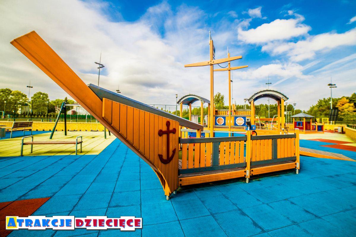 Plac zabaw dla dzieci Siewierz ul. Kościuszki zdjęcie 3