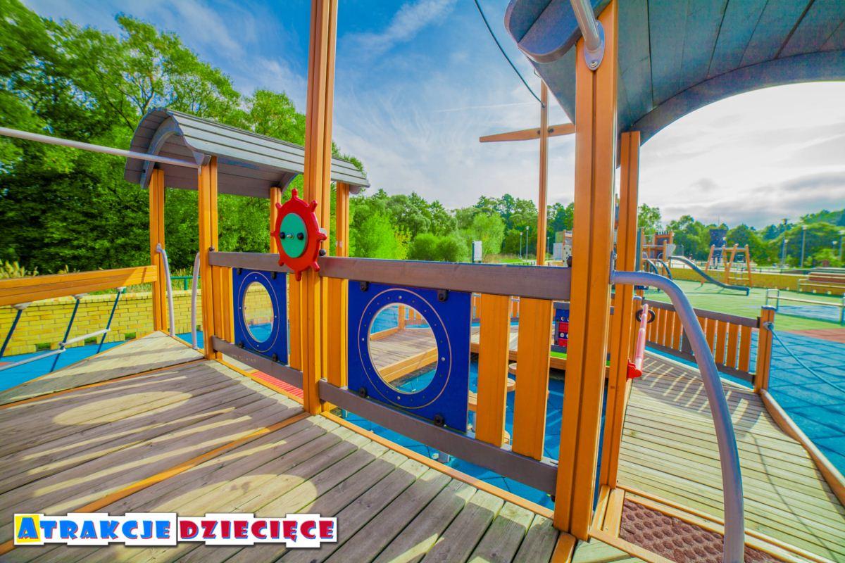 Plac zabaw dla dzieci Siewierz ul. Kościuszki zdjęcie 4