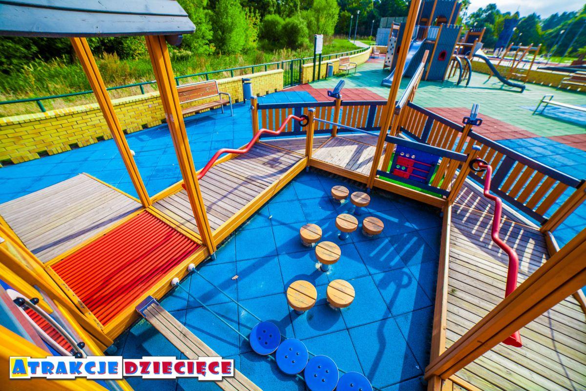 Plac zabaw dla dzieci Siewierz ul. Kościuszki zdjęcie 5