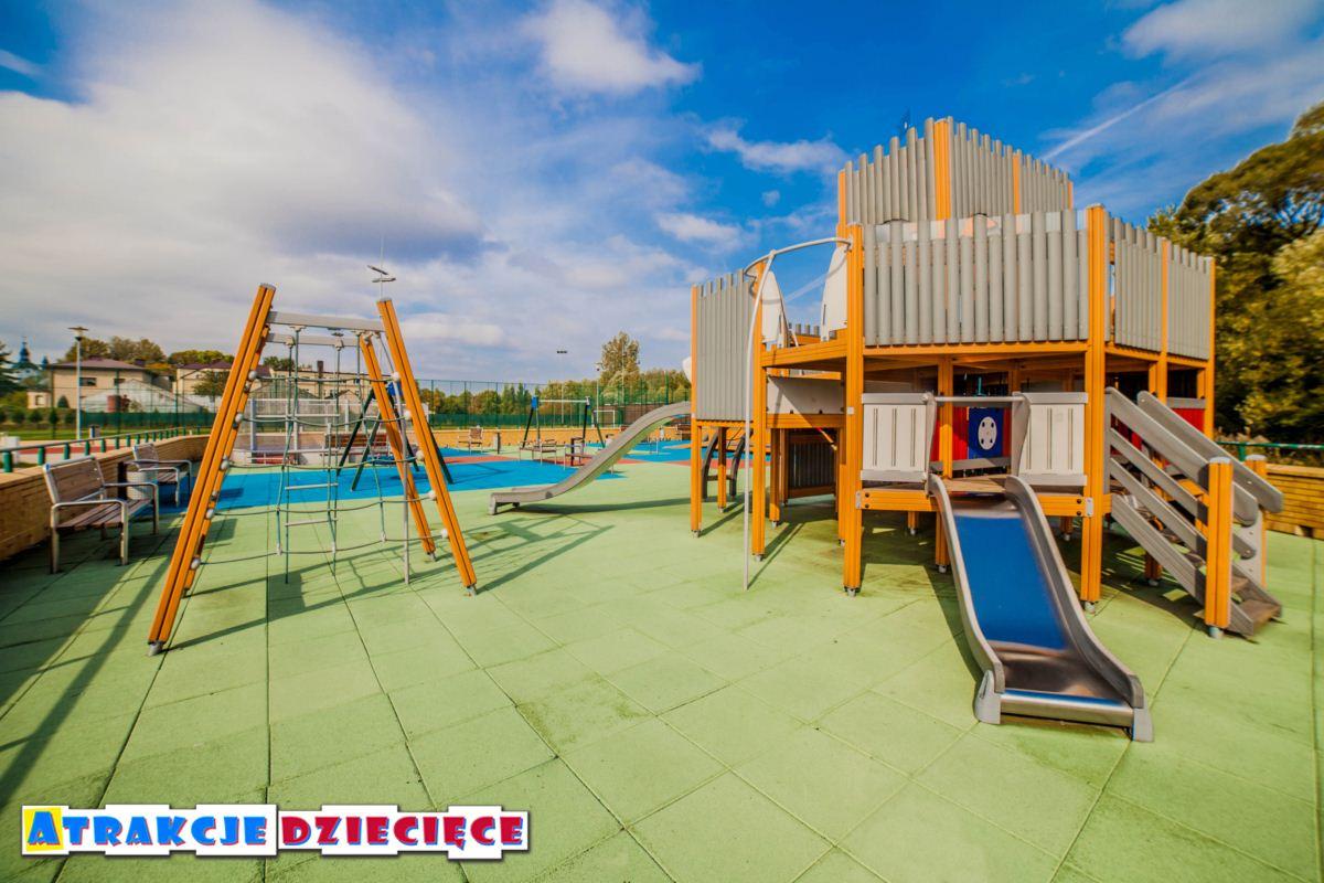 Plac zabaw dla dzieci Siewierz ul. Kościuszki zdjęcie 8
