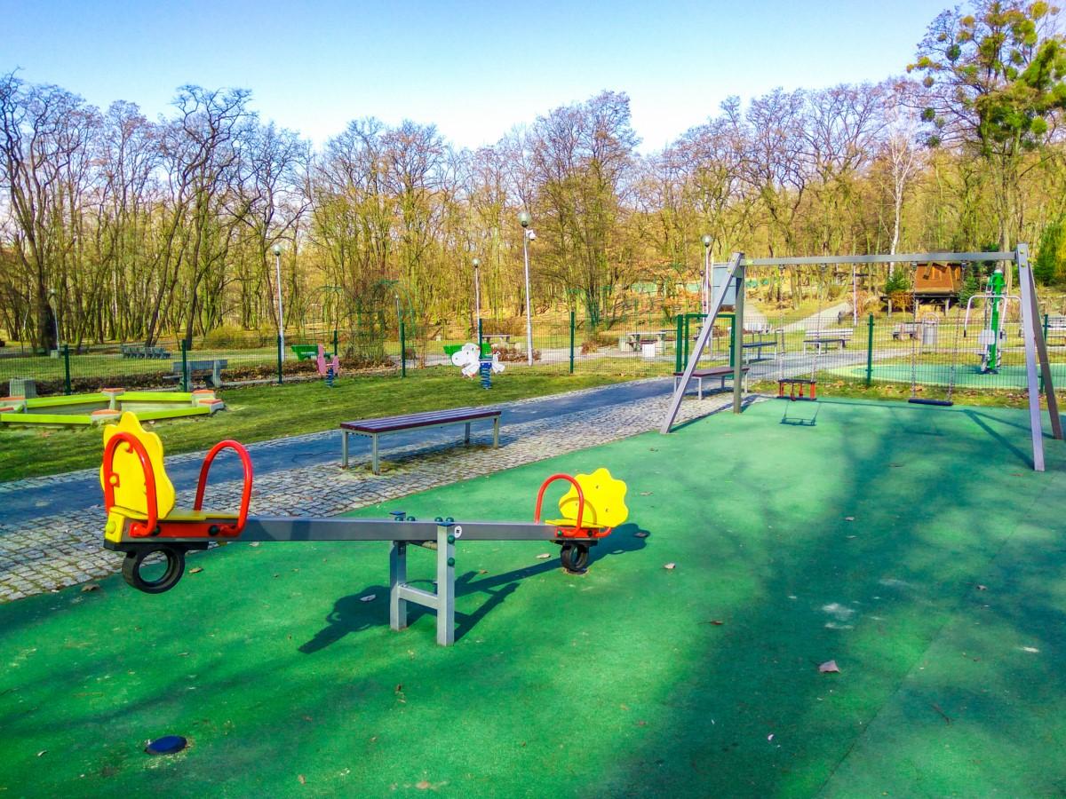 Plac zabaw Ruda Śląska Park Strzelnica zdjęcie 5