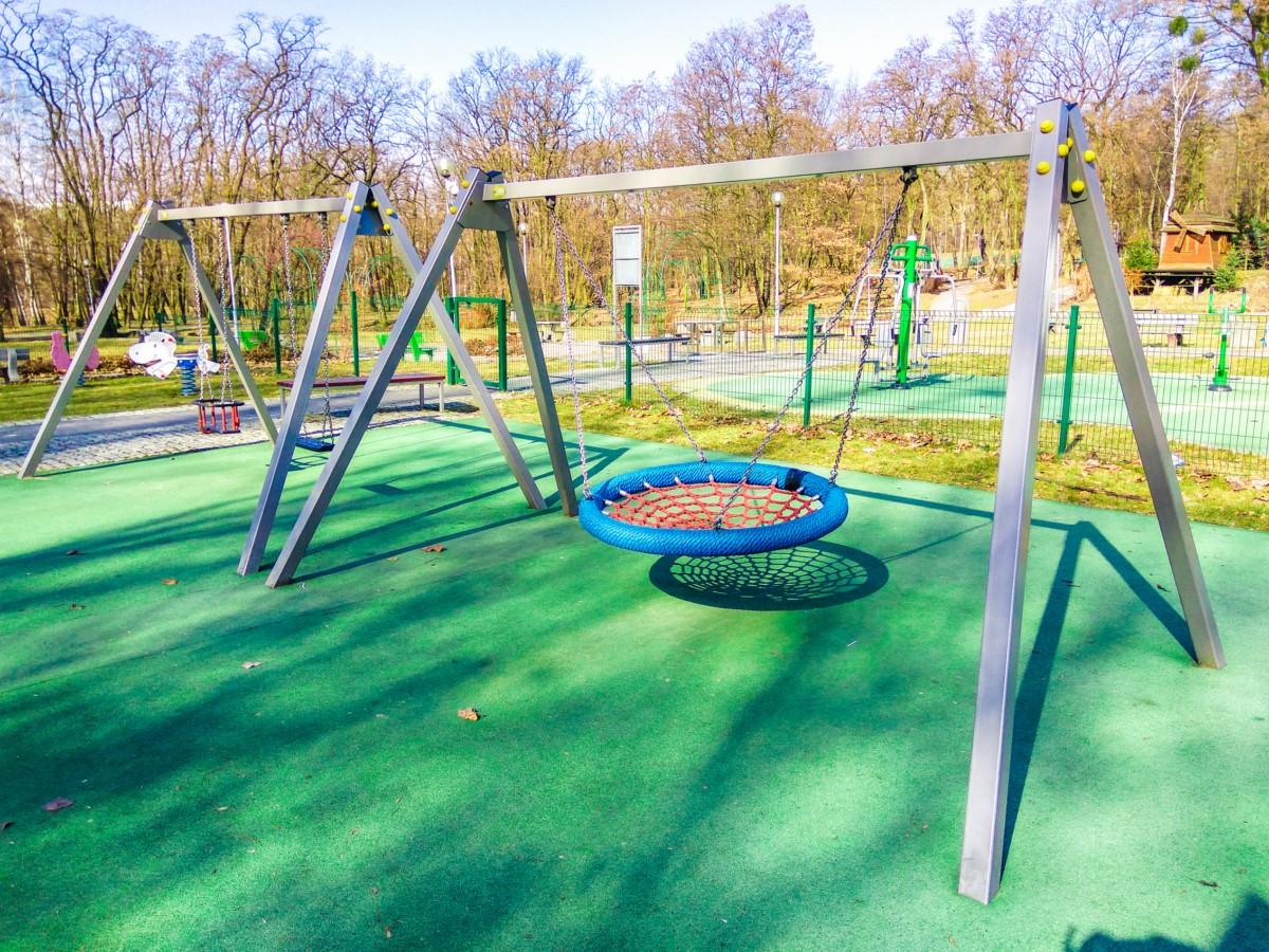 Plac zabaw Ruda Śląska Park Strzelnica zdjęcie 0