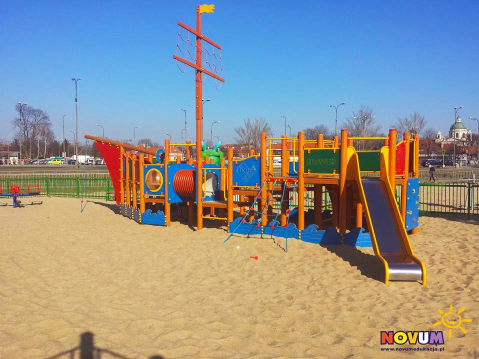 Plac zabaw dla dzieci Warszawa Plaża Wilanów zdjęcie 6