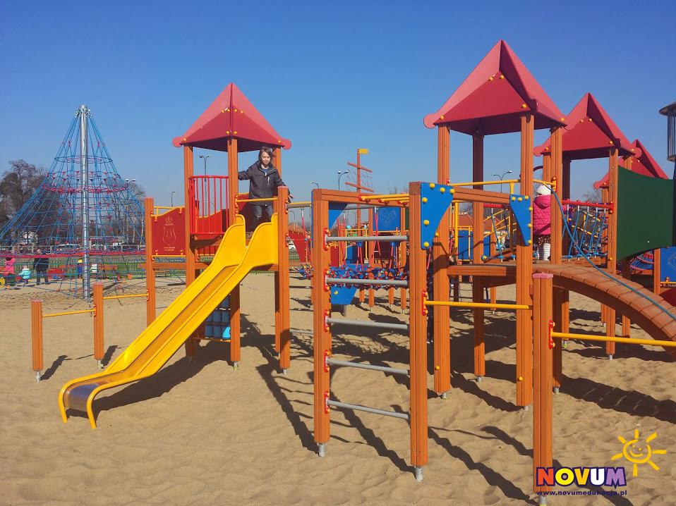 Plac zabaw dla dzieci Warszawa Plaża Wilanów zdjęcie 3