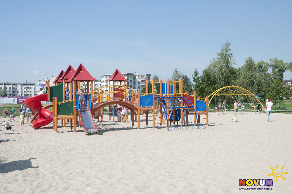 Plac zabaw dla dzieci Warszawa Plaża Wilanów zdjęcie 2