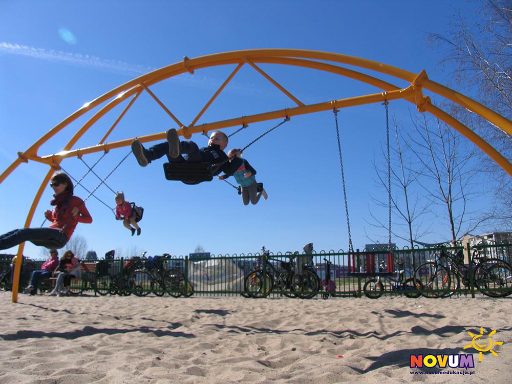 Plac zabaw dla dzieci Warszawa Plaża Wilanów zdjęcie 1