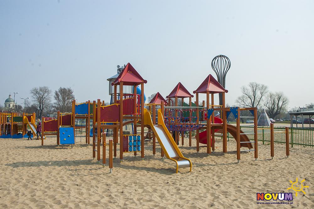 Plac zabaw dla dzieci Warszawa Plaża Wilanów zdjęcie 0