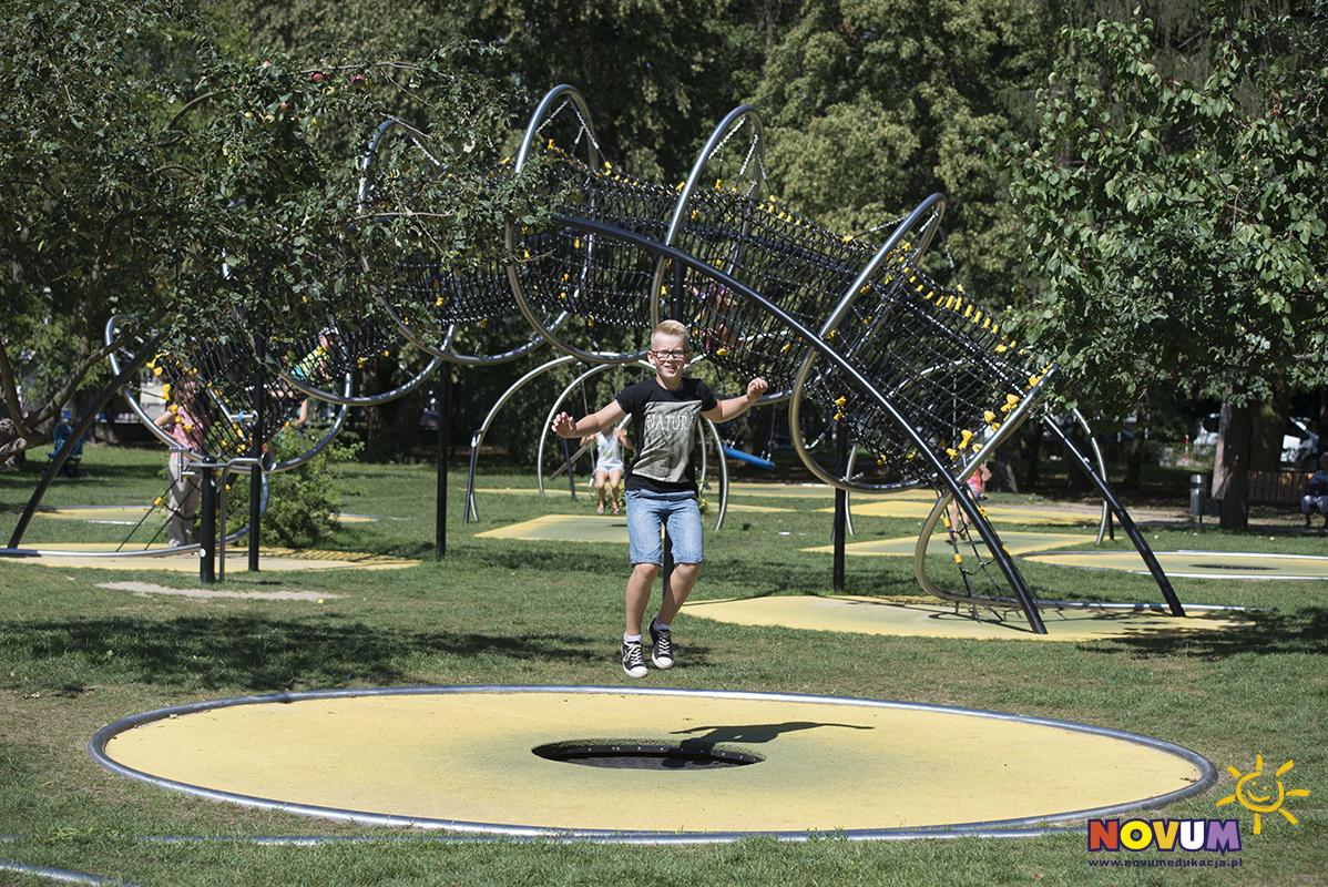 Park Trampolinowy NOVUM - Warszawa Bielany zdjęcie 1