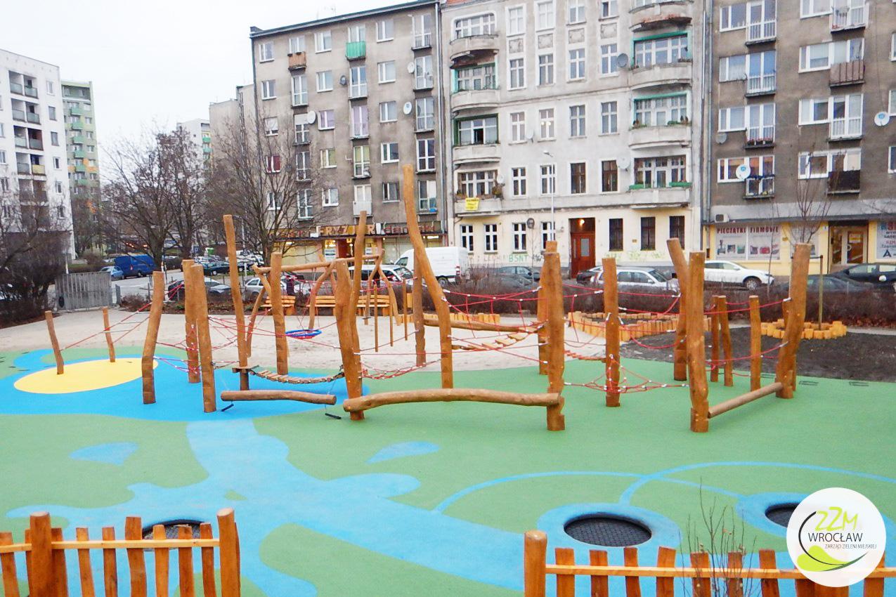 Plac zabaw Plac Pereca Wrocław zdjęcie 0
