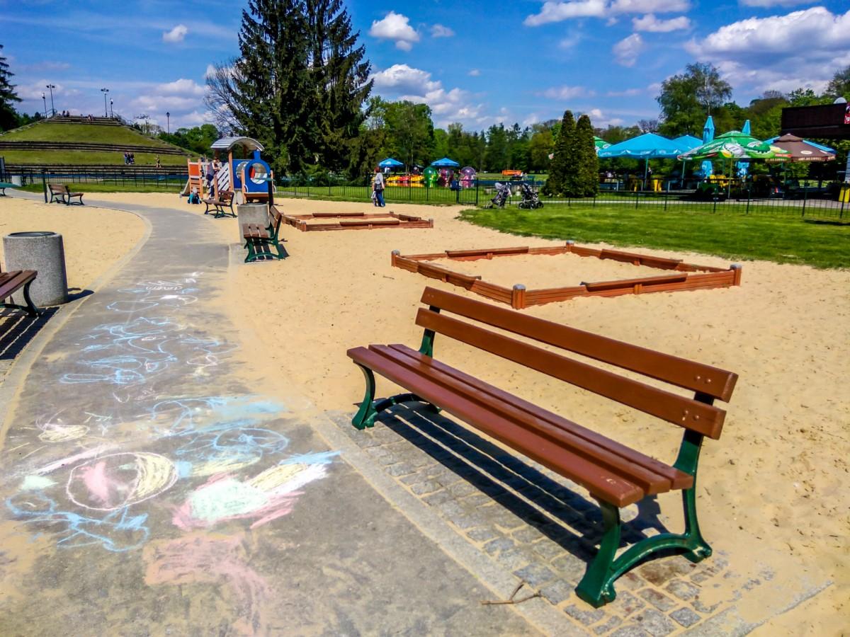 plac zabaw dla dzieci w parku jordana w krakowie zdjęcie 6