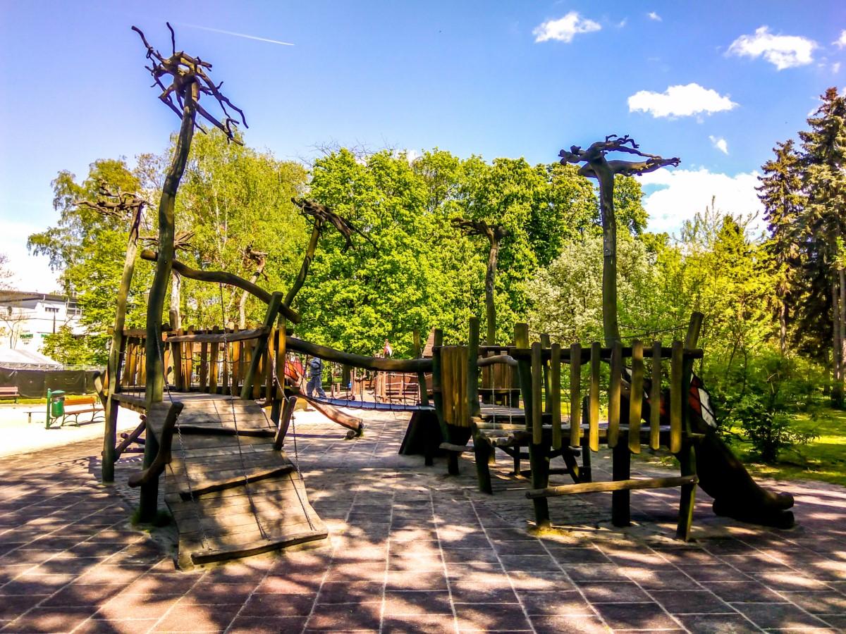 plac zabaw park Jordana kraków zdjęcie 10
