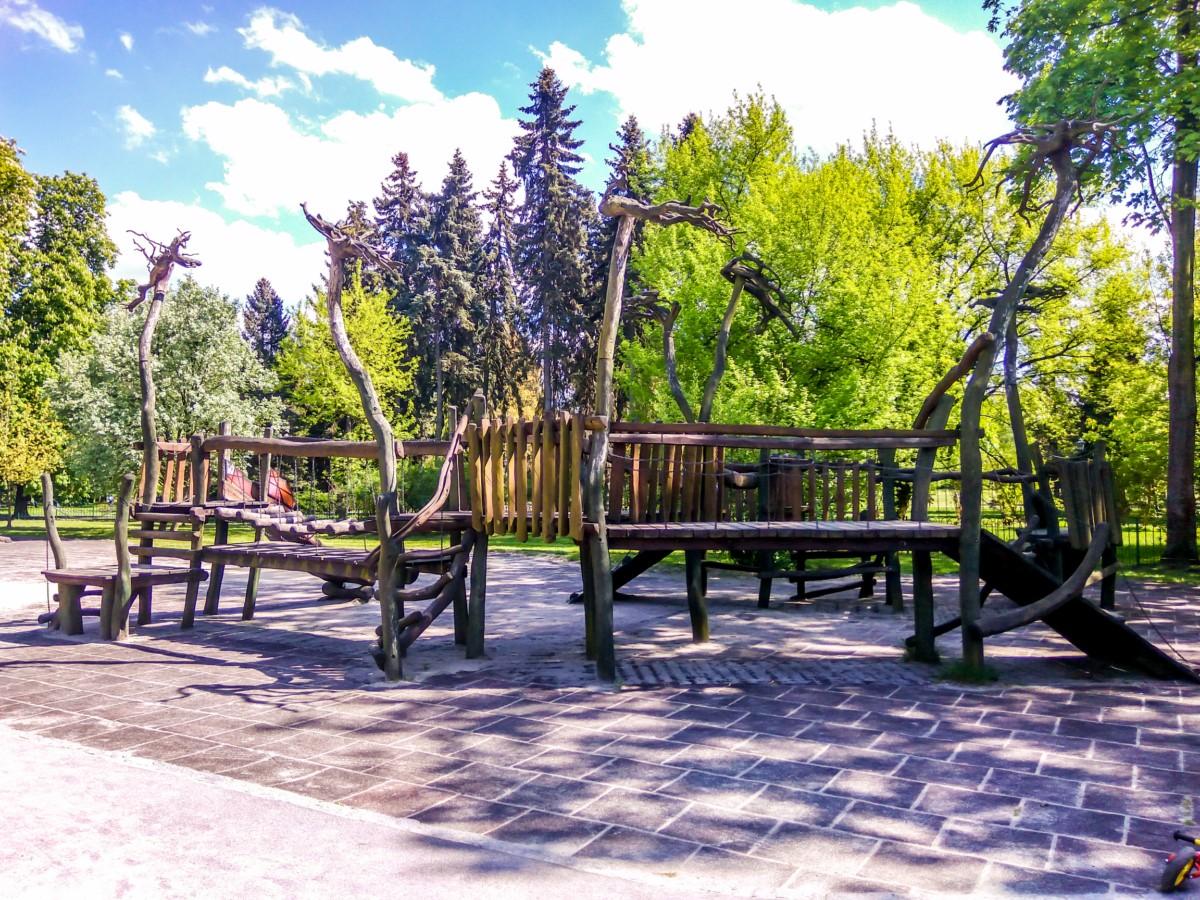 plac zabaw park Jordana kraków zdjęcie 8