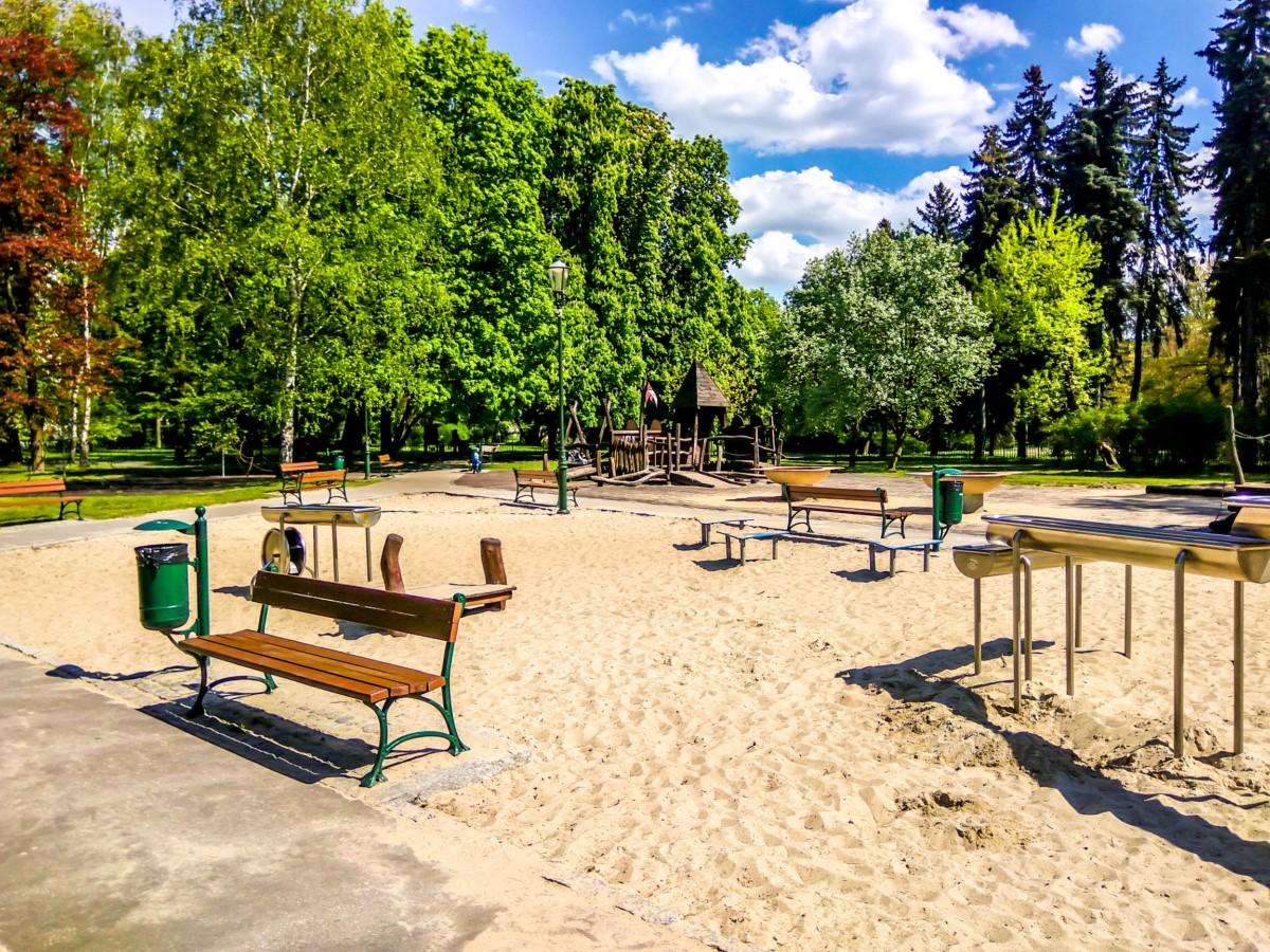 plac zabaw park Jordana kraków zdjęcie 5
