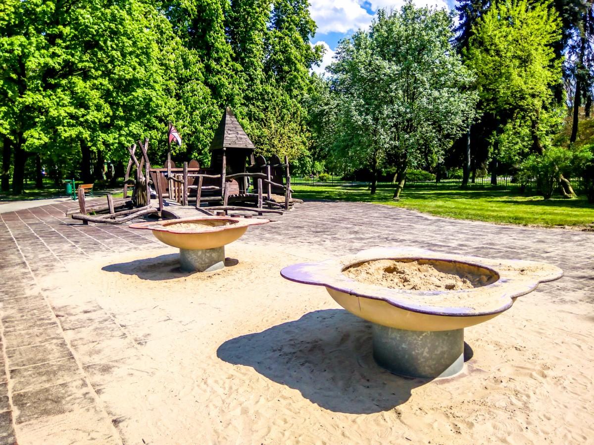 plac zabaw park Jordana kraków zdjęcie 3