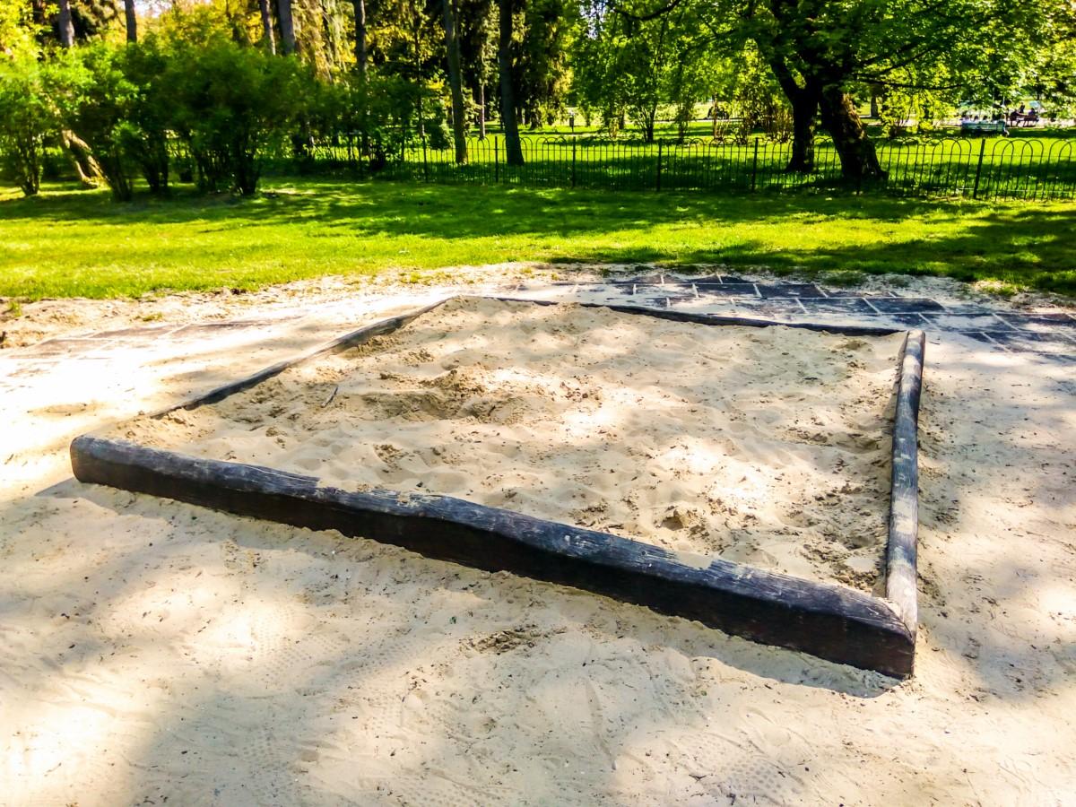 plac zabaw park Jordana kraków zdjęcie 2