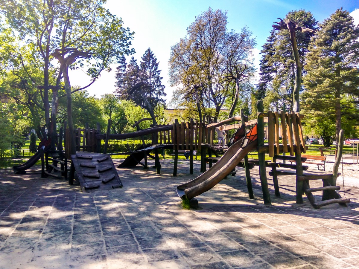 plac zabaw park Jordana kraków zdjęcie 1
