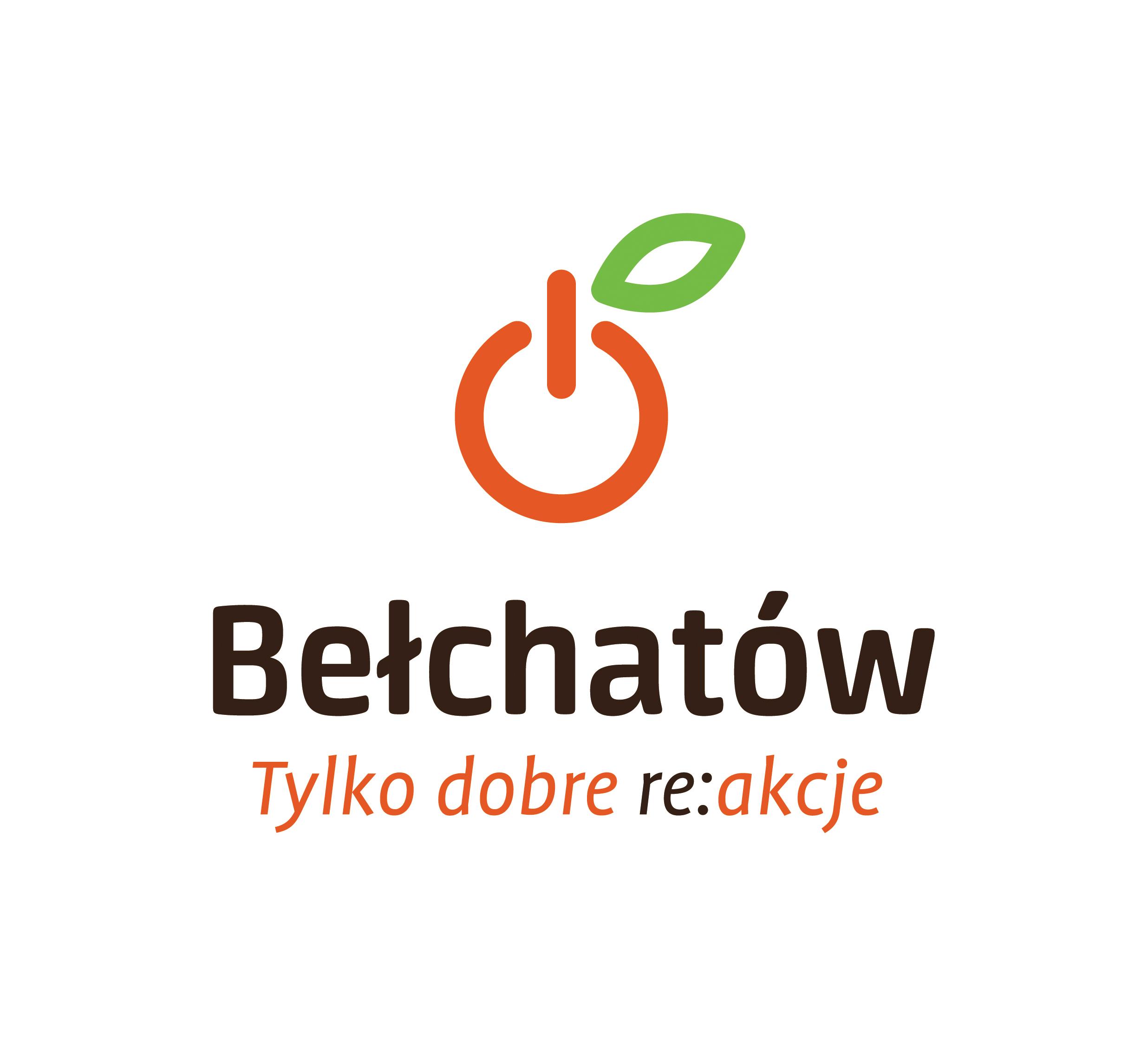 Be chat w logo pionowe has o