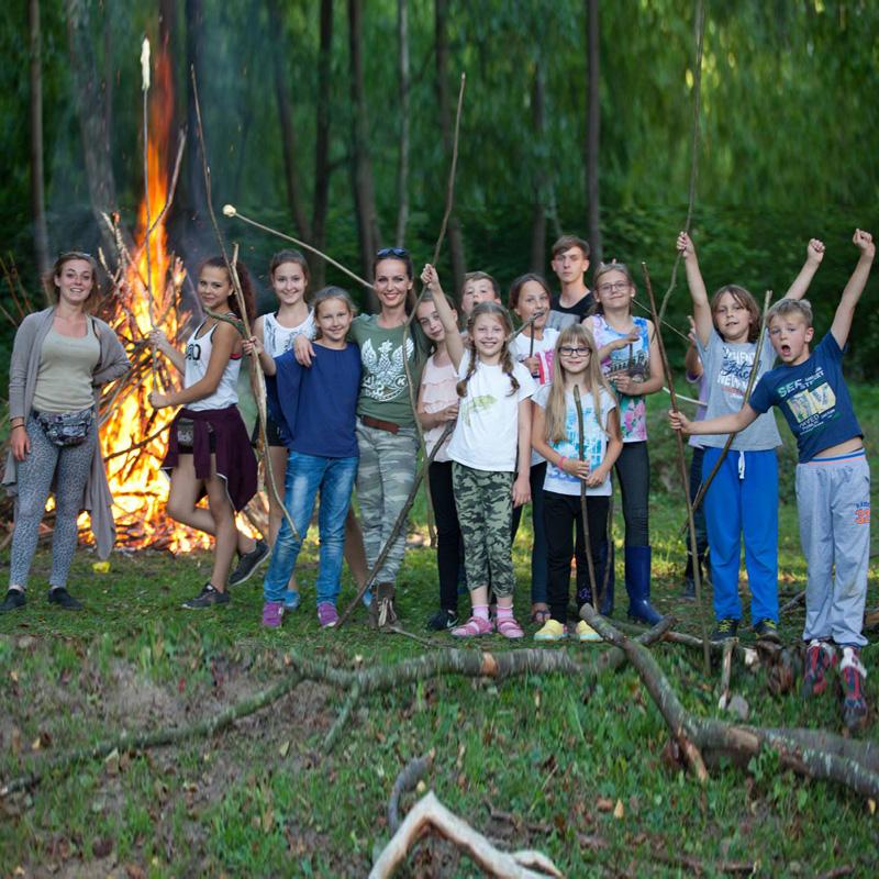 Kurnik polski dla dzieci