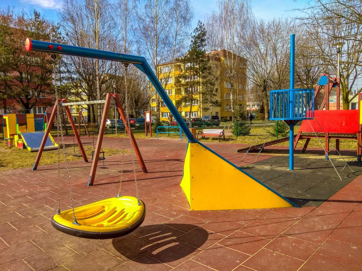 plac zabaw dla dzieci w Tychach