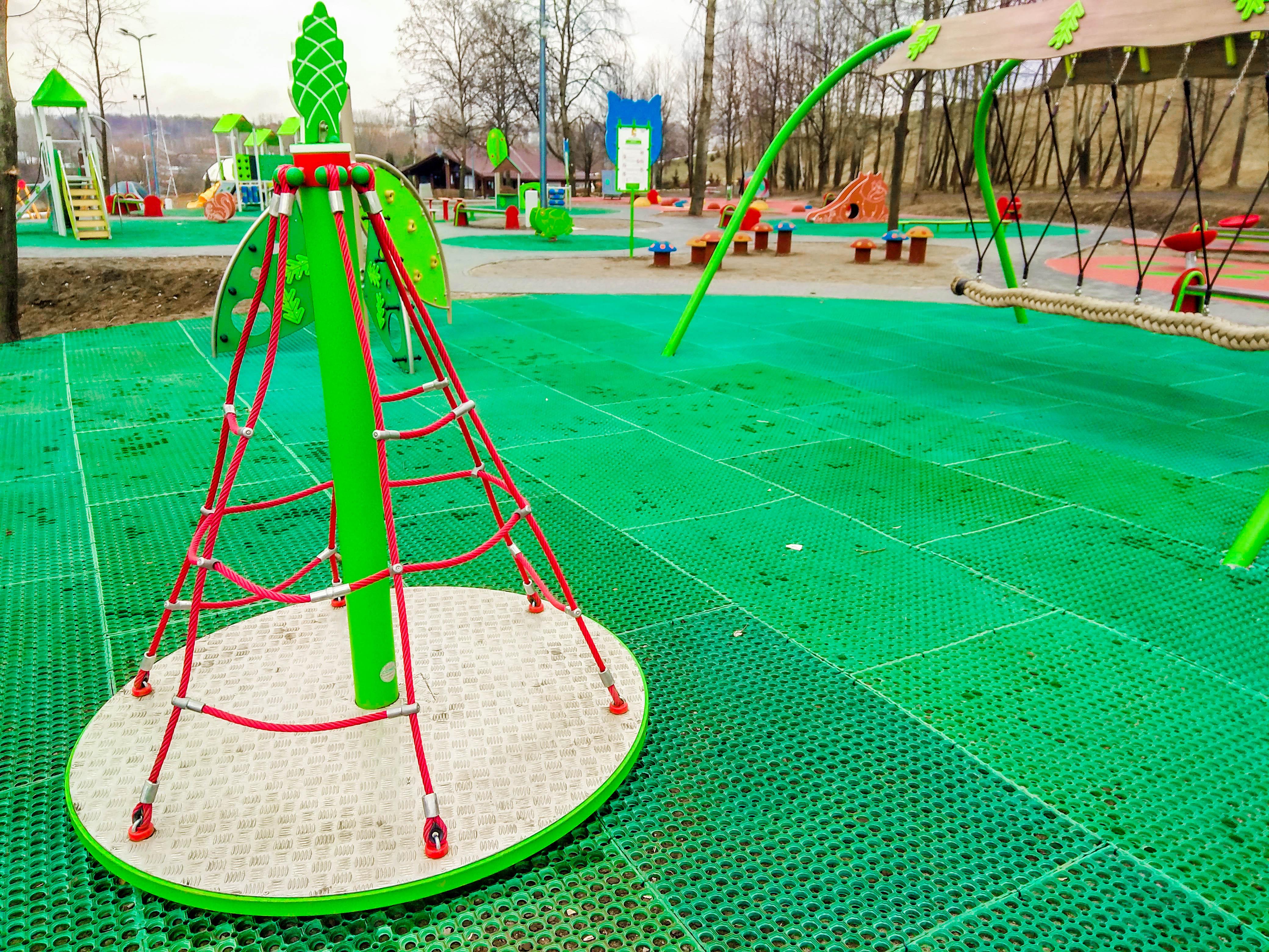 plac zabaw park środula sosnowiec