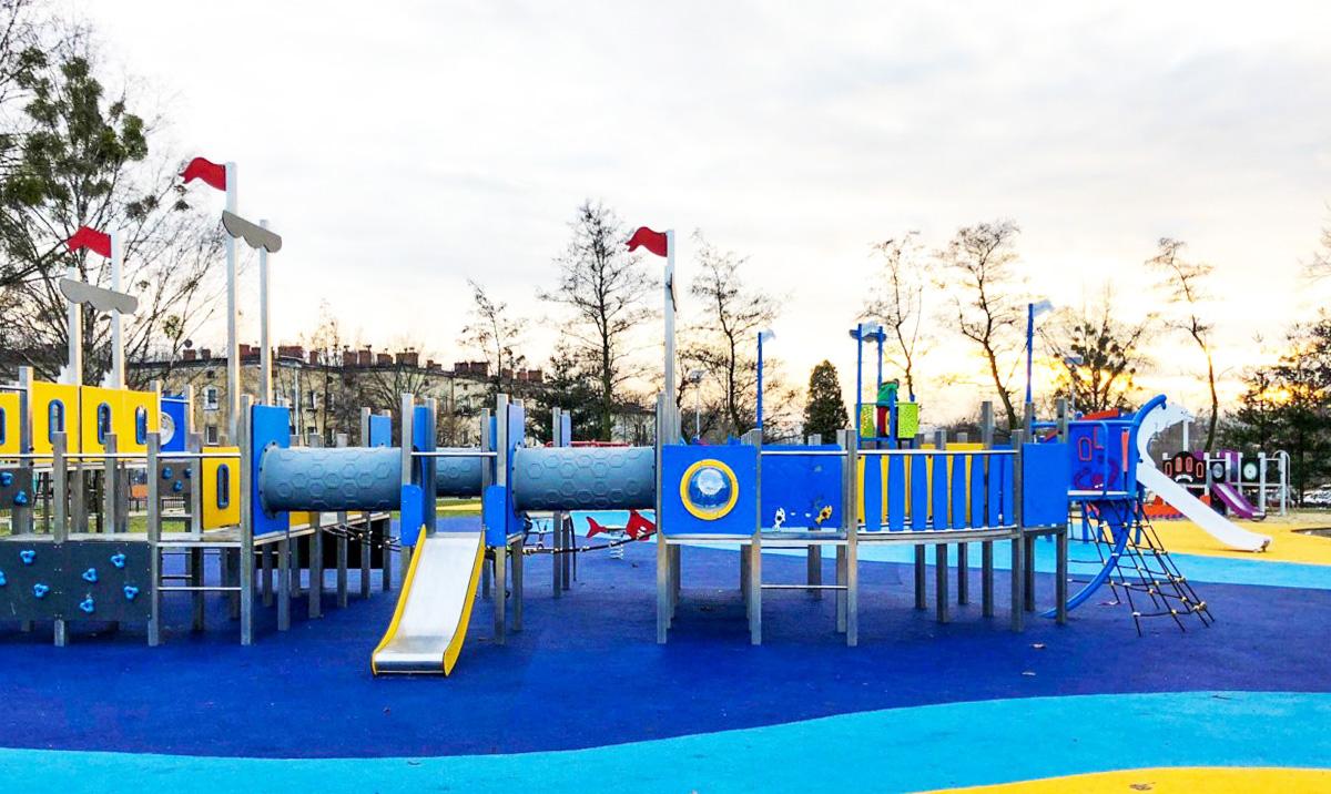 plac zabaw dla dzieci MOSiR Piekary Śląskie