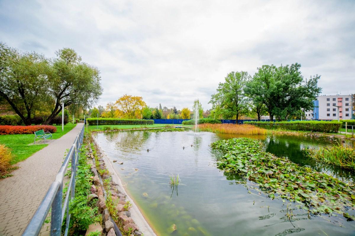 park zaczarowanej dorożki w Krakowie