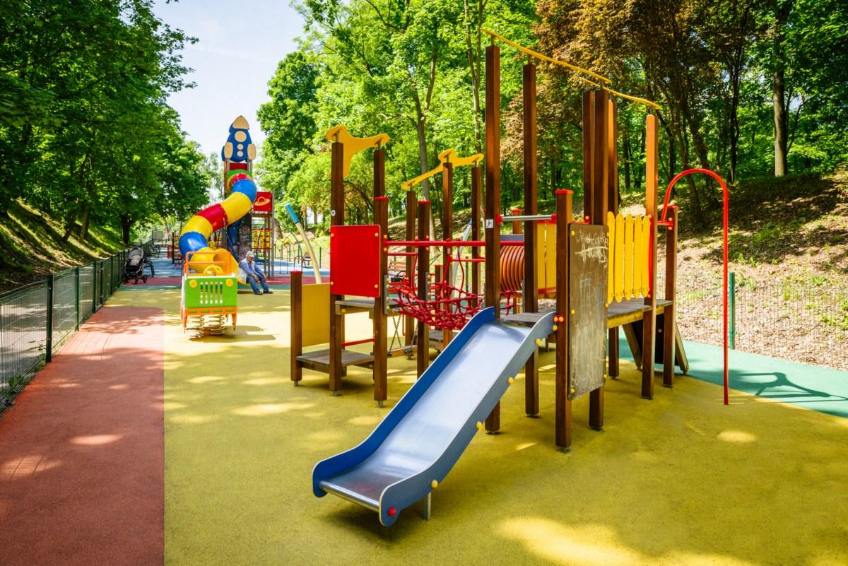 plac zabaw dla dzieci poznań park cytadela