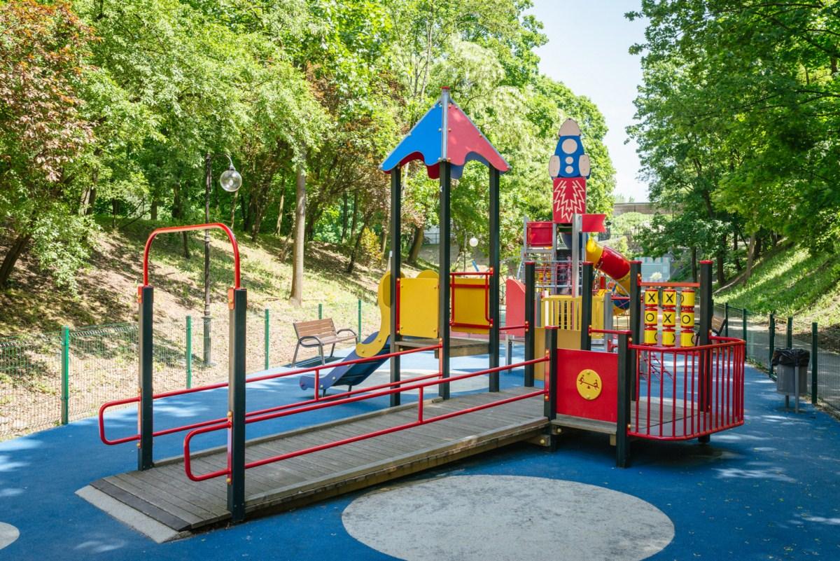 park cytadela poznań plac zabaw dla dzieci