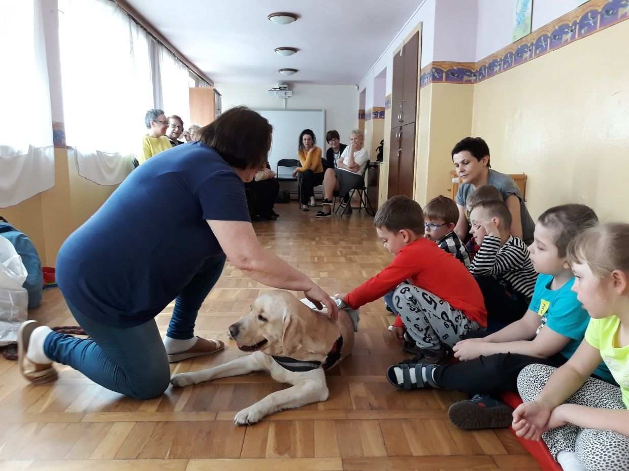 dogoterapia dla dzieci w Sochaczewie