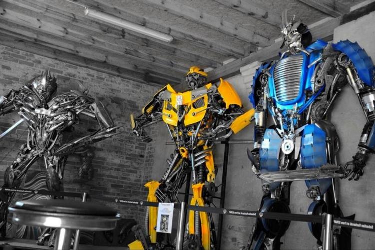 fabryka robotów dla dzieci