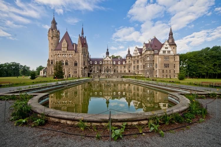 zamek moszna atrakcje dla dzieci