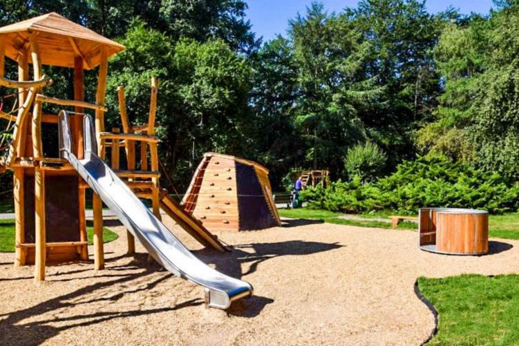 park kościuszki katowice plac zabaw