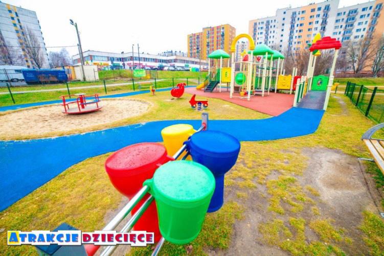 plac zabaw dla dzieci paderewskiego Katowice