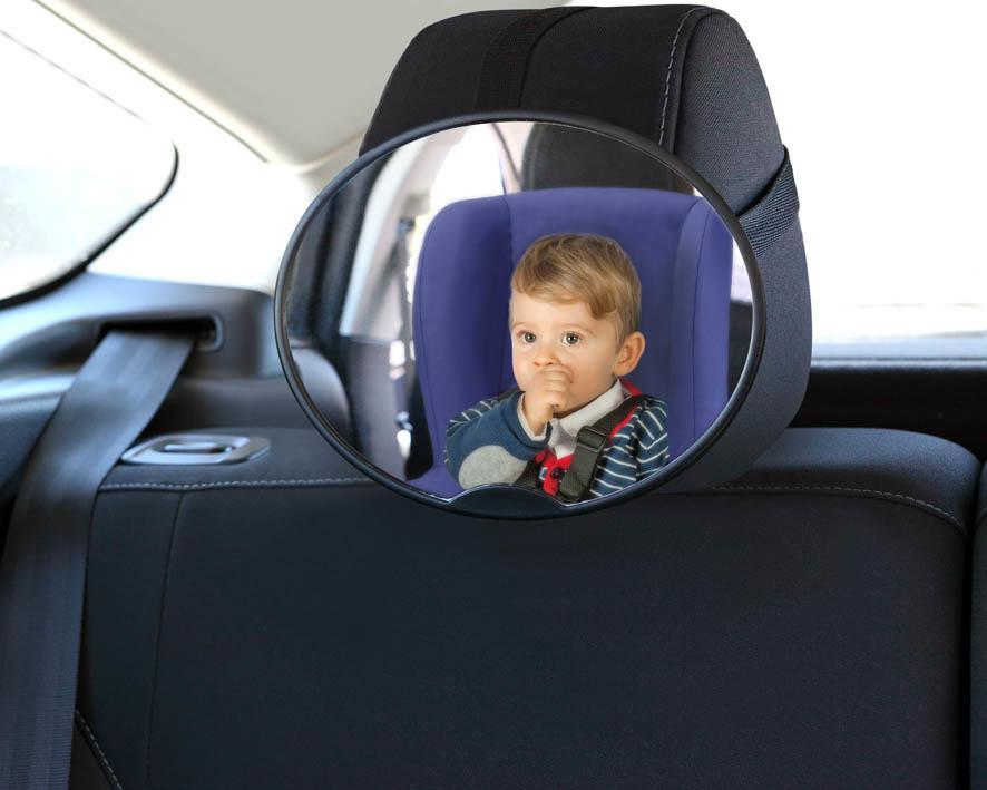 Lusterko samochodowe mocowane na zagłówku KIOKIDS